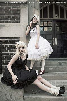 idea for the black and white tututs -Zoe