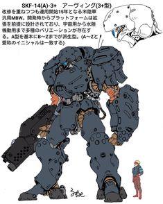 Arte Robot, Robot Art, Game Character Design, Character Concept, Cyberpunk Rpg, Gundam Wallpapers, Futuristic Armour, Sci Fi Armor, Robot Concept Art