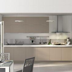 Kitchen Room Design, Modern Kitchen Design, Kitchen Colors, Updated Kitchen, Open Kitchen, Kitchen Countertops, Kitchen Cabinets, Gloss Kitchen, Modern Closet