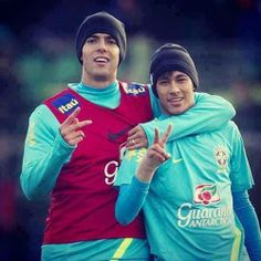 Neymar and Kakà