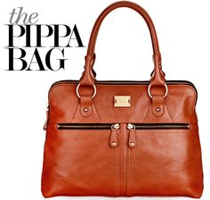 Modalu London 'Pippa Bag' in #cognac - #430211091 exclusively in Canada at #TownShoes #pippa  http://townshoes.com/handbags/the-pippa-bag/