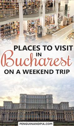 There are lots of things to do in Bucharest, Romania. From walking to the Old Town and taking great photos to eating at a medieval restaurant, these things should not be missed on a weekend trip! Europe Travel Guide, Backpacking Europe, Travel Destinations, Budget Travel, European Destination, European Travel, Visit Romania, Romania Travel, Bucharest Romania