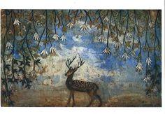 kirsi neuvonen - Google'da Ara Squirrel Art, Moose Art, Female Painters, Collage Illustration, Oh Deer, Life Is An Adventure, Animal Paintings, Art Images, Art Inspo