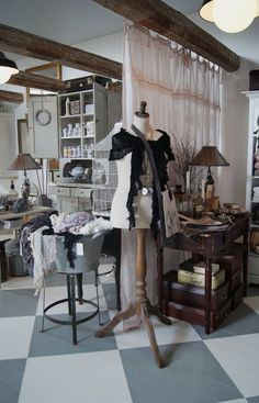 Some resale, thrift and consignment shopkeepers so loved the attention-getting ideas from an earlier post about getting shoppers into your back room, that they wanted ideas on actually how to make back rooms out of.... click to read Auntie Kate's ideas