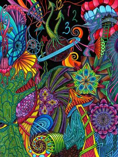 Trippy Art Painting Black Lights 59 Ideas For 2019 Trippy Art Painting Black Lights 59 Ideas For 2019 Painting Art Grafic Design, Psy Art, Tangle Art, Tangle Doodle, Hippie Art, Visionary Art, Psychedelic Art, Psychedelic Pattern, Art Plastique