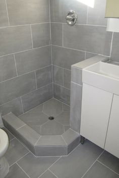 A Tub Surround We Installed 12x24 Porcelain Tile On A