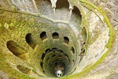 Initiation Well at Quinta de Regaleira in Sintra Portugal