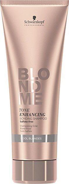 Schwarzkopf BlondMe Tone Enhancing Bonding Shampoo Cool Blonde 8.45 oz / 250 ml #Schwarzkopf