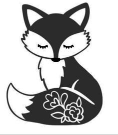 Fox flowers on tail cute wall decor baby girl room vinyl decal for cars walls tumblers cups laptops windows BUMPER Sticker Laptop Car Christmas Baby Announcement, Baby Announcement To Husband, Newborn Announcement, Mexican Baby Names, Mexican Babies, Vinyl Decals, Decals For Cars, Wall Stickers, Wall Decals