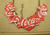 ... Soda Can Jewelry Coca Cola - Joyas con latas recicladas de Coca Cola