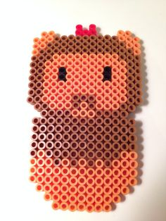Cowardly Lion Wizard of Oz Perler Beads by NerdChristmas