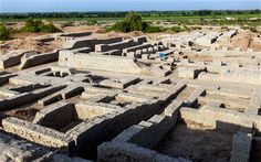 World's only surviving Bronze Age metropolis in Pakistan faces ruin. The city of Mohenjodaro, a major center of pre-Hindu INdus civilization dating to 3000 BC with approximately 40,000 inhabitants, is under threat from salt and weather conditions that get as hot as 51 degree Celsius. Things found at the site include sewer lines, a granary, and many other interesting buildings.