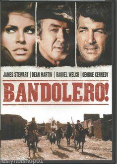 Bandolero! (DVD, 2004) James Stewart, Dean Martin, Raquel Welch