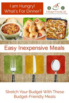 Fast easy budget friendly recipes