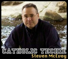 Meet Catholic Techie Steven McEvoy, whose passion for books and Catholicism shines through.@Sarah Reinhard has a great interview!