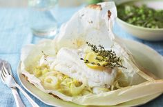 A simple Steamed cod parcels with fennel and herbs recipe.