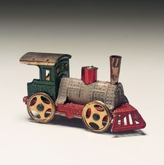 German Toy Locomotive. http://Theriaults.com