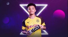 Jadon Sancho opened his Senior National Team scoring account, netting a brace against Kosovo, in a win for the English in the 2020 Euro Qualifiers. Neymar, Messi, England National Team, Gareth Bale, Old Trafford, Ac Milan, David Beckham, Net Worth, Munich
