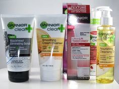 LOTS of Garnier Skincare to Try!