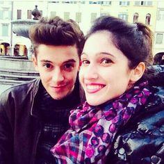 Lodo et ruggero à Paris en janvier 2014