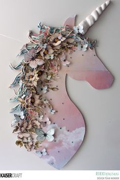 Just too Obsessed: Every Girl Needs A Unicorn - with Kaisercraft Diy Projects To Try, Projects For Kids, Diy For Kids, Crafts For Kids, Fun Crafts, Diy And Crafts, Arts And Crafts, Paper Crafts, Unicorn Room Decor