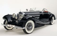 1936 Mercedes-Benz 540K Special Roadster $11,770,000 | sold August 19, 2012 in Pebble Beach, California by Gooding & Company. This gorgeous, supremely rare Benz was kept by its original owner, a German baroness, until her passing in 1989.