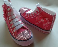 One Direction custom shoes for a very special little lady.