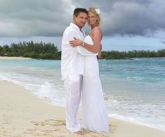 Justine Taylor and Beau Tyler got married at Shandrani, Mauritius