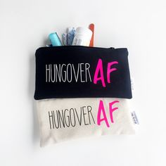 Don't forget the morning after the bachelorette party. Fill these bags with the must have to cure that hangover!