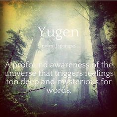 #Yugen get it just surrender to the #Goddess for she is breathing #love into all that is...