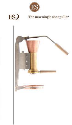 ES2 wall mounted espresso machine:  http://www.espressostrietman.com