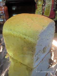 I made this Italian Herb Bread a few years ago to kick off Bread Machine Week - a week where I used my bread machine every day! The bread machine had been put a
