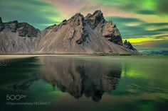 Vestrahorn Mountain by RGW-Photography