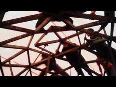 Domo Geodesico Curso Presencial Garopaba 2013, 19 al 22 de setiembre, domo 6 m de diámetro construído en 4 dias!