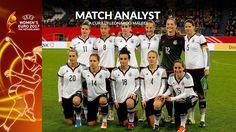 Match Analysis UEFA Women's EURO 2017: la Nazionale Tedesca Femminile