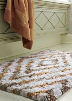 Crafted From Premium Long Staple Cotton That Coordinates Perfectly With Our Resort Towels Bath Rugs Are Deliciously Plush Underfoot The Combe
