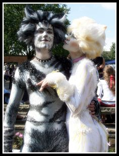 Cats costumes 1 by Rollwurst.deviant… Cats costumes 1 by Rollwurst. Cats The Musical Costume, Car Costume, Cats Musical, Costumes, Costume Ideas, Cat Cosplay, Cosplay Ideas, Jellicle Cats, Cat Movie