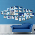 26 PCS White Wood Multi Picture Collage Set Photo Frames Home Decor Wall Mounted | eBay Wall Collage Picture Frames, Wall Hanging Photo Frames, Hanging Photos, Hanging Art, Picture Wall, Frames On Wall, Picture Photo, Multi Picture, Home Decor Sets