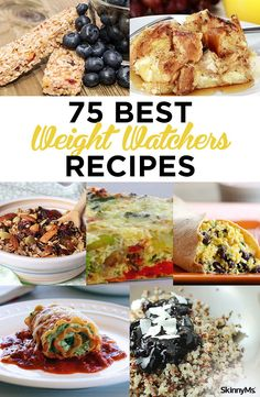 Building your repertoire of recipes will make it easier, and tastier, than ever to stay on track with your Weight Watchers goals! Our recipe list contains breakfasts, lunches, dinners, and snacks with only clean, whole ingredients…and each one is guaranteed to keep your Points in check! | weight watchers points | weight loss recipes | best weight watchers recipes | #weightwatchers #ww #weightwatcherssnacks #weightlossfoods #recipesforweightloss #weightwatchersrecipes…