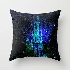 Fantasy Disney Throw Pillow By Guido Montanes   Disney Throw Pillows