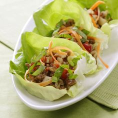 "16 Cheap Summer Recipes Under $3 a Serving. Pictured -  ""Five-Spice Turkey and Lettuce Wraps."""