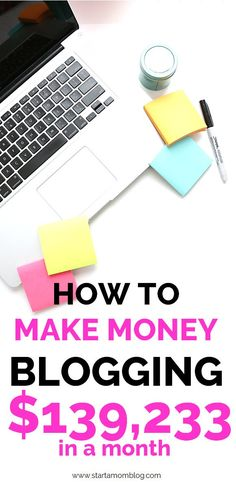 How To Make Money Blogging - Start a Mom Blog - Affiliatemarketing - Michelle from Making Sense of Cents