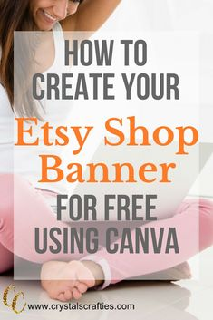 -How to Create Your Etsy Shop Banner for FREE! How to create a FREE Etsy Shop banner using Canva. Full tutorial and instructions included. Craft Business, Business Tips, Online Business, Business Marketing, Starting An Etsy Business, Etsy Seo, Shops, Etsy Crafts, Sell On Etsy