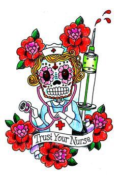 Nurses Week Quotes, Happy Nurses Week, Nursing Quotes, Hello Nurse, Nurse Love, Rockabilly, Nurse Art, Becoming A Nurse, Icu Nursing