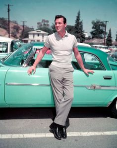 Rock Hudson (I used to be his driver on the Warner Bros. Lot, just before he got ill. A sweet man!)