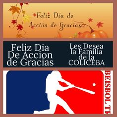 Baseball League, Puerto Rico, Happy Thanksgiving, Puerto Ricans