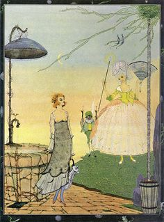 Cinderella and the Fairy Godmother - The Fairy Tales of Charles Perrault  1922