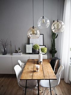 Dining tables for every style of living Which dining tables to match your interior design style . - home-dekor - Home Sweet Home Living Room Interior, Living Room Decor, Living Room And Dining Room Together, Dining Table In Living Room, Ikea Interior, Kitchen Living, Sweet Home, Living Styles, Dining Room Design