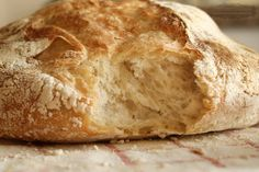 Magical 18 hour bread. 3 cups all-purpose or bread flour, more for dusting  ¼ teaspoon instant yeast  1¼ teaspoons salt  Cornmeal or wheat bran as needed.