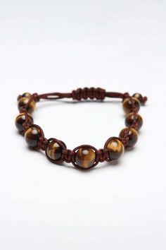 Adjustable Mala Bead Bracelet